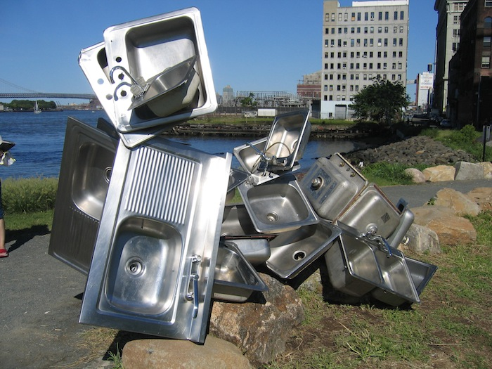 Tripoli-Sink sculpture