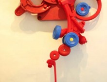 Red Plastic Form, 2005